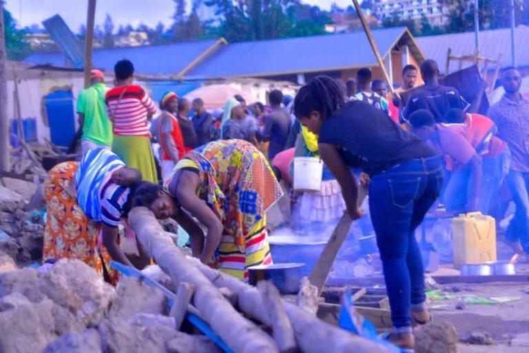 RWANDA: CONDEMNING HOUSE DESTRUCTIONS