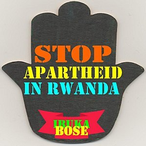 #StopApartheidInRwanda